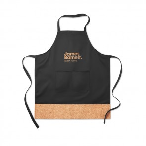promotional apron with cork hem MOB-MO9792