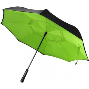 promotional automatic reversible twin layer umbrellas IME-7963