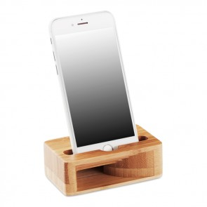 promotional bamboo phone stand amplifier MOB-MO9706