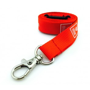 promotional 15mm flat polyester lanyard PMT-ULA32