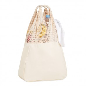 promotional beach bag cotton/mesh MOB-MO9897