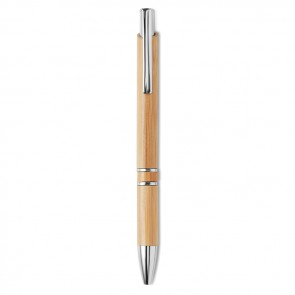 promotional bern bamboo bamboo automatic ball pens MOB-MO9482