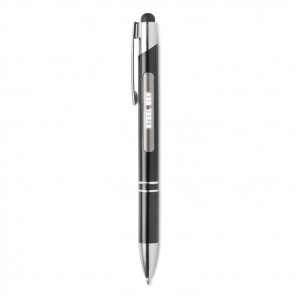 promotional bern light aluminium stylus pens MOB-MO9479