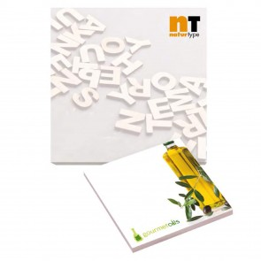 promotional bic 101 mm x 101 mm 50 sheet adhesive notepads BIC-3548