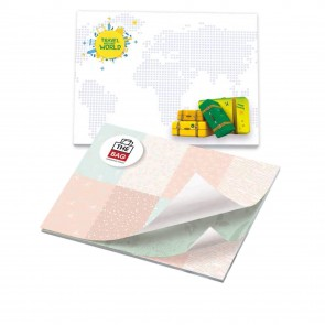 promotional bic 101 mm x 75 mm 50 sheet adhesive notepads BIC-3542