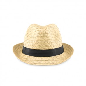 promotional boogie natural straw hats MOB-MO9341
