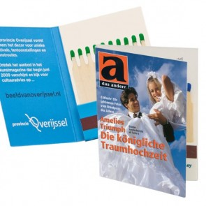 promotional buchform matchbooks TGR-BUCHFORM