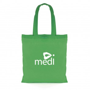 promotional budget coloured cotton shopper bags BHQ-QB0560