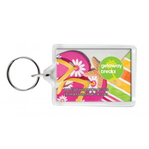 promotional c1 rectangular keyrings SEU-KY0016