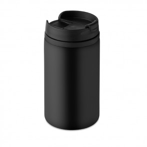 promotional can shape double wall travel mugs MOB-MO9246