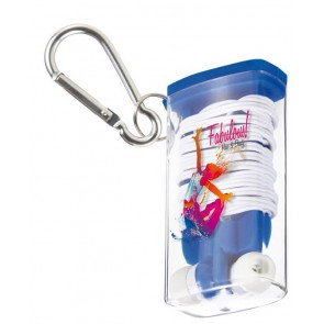 promotional carabiner earphone sets  SEU-KY1602