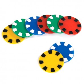 promotional casino chips   round SEU-HP8438