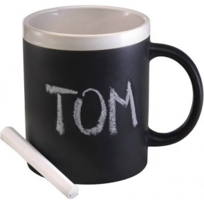 promotional chalk board ceramic mugs IME-2880