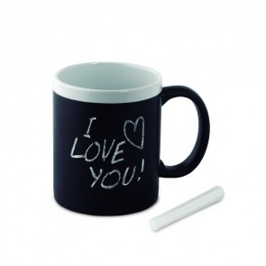 promotional chalk mugs  MOB-MO8658