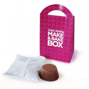 promotional choc muffin make & bake boxes BIT-M12749