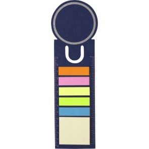 promotional circle bookmark with sticky notes IME-3115