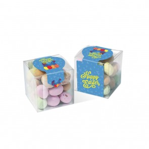 promotional clear cube   speckled eggs TSP-104279