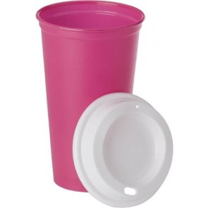 promotional coffee cups with lids IME-7681
