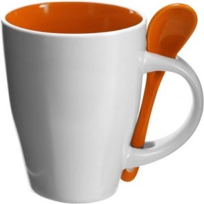 promotional coffee mug with spoon  IME-2855
