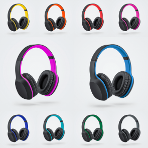 promotional colorissimo wireless headphones REI-PH20