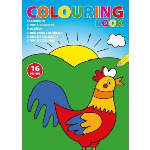 promotional colouring book with 16 designs IME-4731