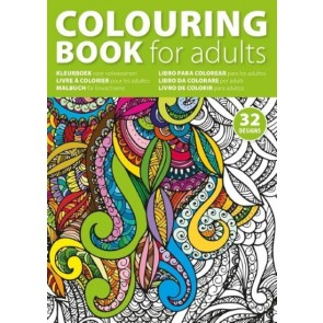 promotional colouring book with 32 designs IME-4908