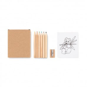 promotional colouring set MOB-MO9873