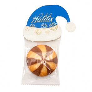 promotional cookies in winter hats IMC-C-0329