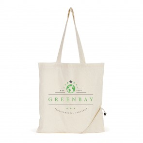 promotional cotton foldable shopper bags BHQ-QB6006NAT