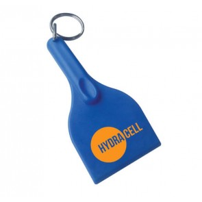 promotional curved ice scraper keyrings SEU-HP8846