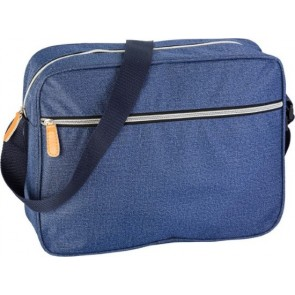 promotional denim look laptop bags IME-6364