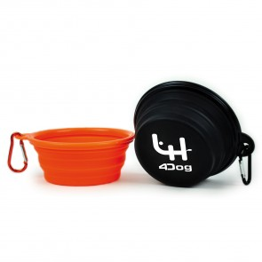 promotional dog bowl with carabiner PMT-UDB11