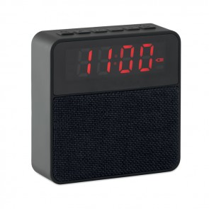 promotional fabric clock alarm speakers MOB-MO9386
