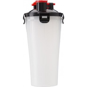 promotional double straw protein shakers IME-2284