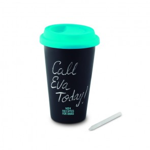 promotional double walled chalk tumblers MOB-MO8662