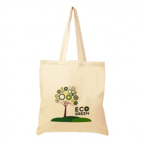 promotional 5oz cotton shopper bags BAT-CAL2