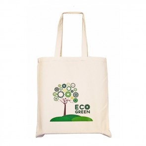 promotional 5oz cotton shopper bags with gusset BAT-CAL4
