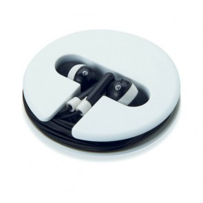 promotional earphones in silicone cases MOB-MO8146
