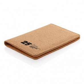promotional eco cork secure rfid passport cover XIN-P820.459
