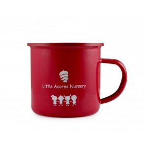 promotional enamel colour coat mugs LSW-12155ENA