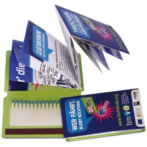 promotional fire and flyer matchbooks TGR-FIREFLYER