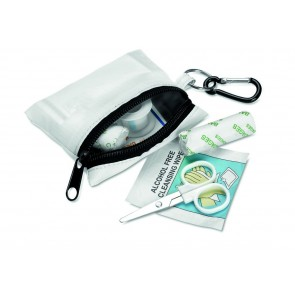 promotional first aid kits with carabiners  MOB-MO7202