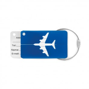 promotional fly tag aluminium luggage tag MOB-MO9508