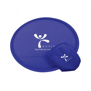 promotional fold up frisbees SEU-LE9574