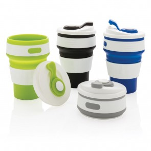 promotional foldable silicone cup XIN-P432.601