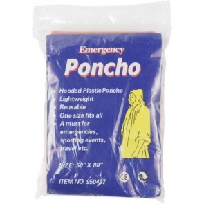 promotional foldable translucent poncho  IME-9504