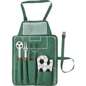 promotional football barbecue set.  IME-7400