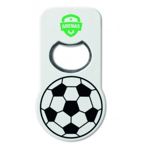 promotional football opener with magnets MOB-MO8275