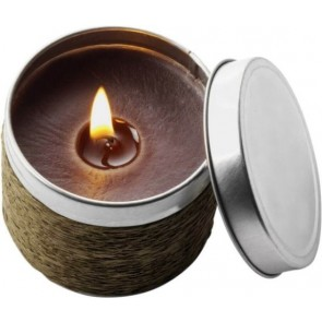 promotional fragranced candle in tins IME-1361