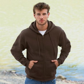 promotional fruit of the loom premium zipped hoodies RAL-SS822